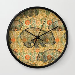 Ode to a Wombat Wall Clock