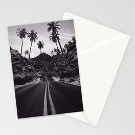 Road Tropical Destine Stationery Cards