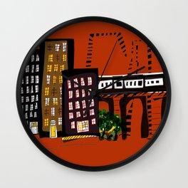 City Rhythms Wall Clock