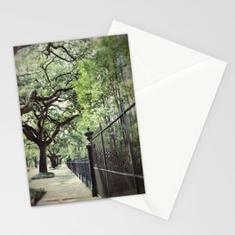 Live Oaks on St. Charles Avenue Stationery Cards