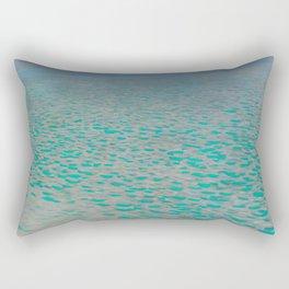 Gustav Klimt - Lake Attersee Rectangular Pillow