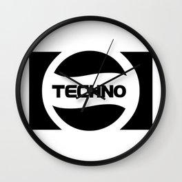 Techno Soda Parody Logo Wall Clock