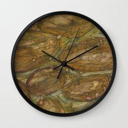Mud Creek 7 Wall Clock