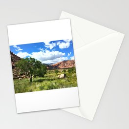 Grassy Field Stationery Cards