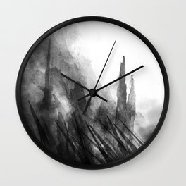 TO THE TOP Wall Clock