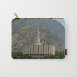 Provo Utah Mormon Temple Latter Day Saints Church Carry-All Pouch