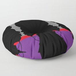 African Woman Floor Pillow