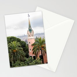 View of Barcelona Stationery Cards