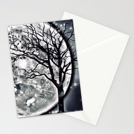 I'M BEING FOLLOWED BY A MOONSHADOW Stationery Cards