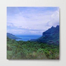 Romantic Tropical Cook's Bay On Moorea, French Polynesia Metal Print