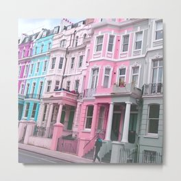 London street life Metal Print