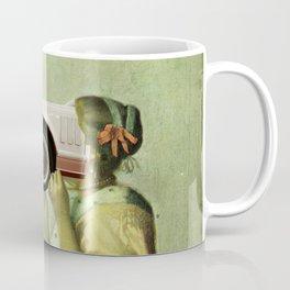 Vermeer · Dame mit CarFace Coffee Mug