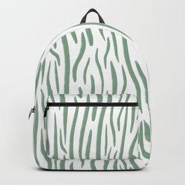 Green Wood Backpack