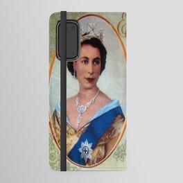Queen Elizabeth 11 & Prince Philip in 1952 Android Wallet Case