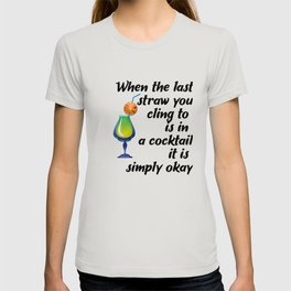 Cocktail Party Holiday Art T-shirt