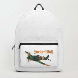 Focke-Wulf Fw 190 German WWII Airplane Backpack