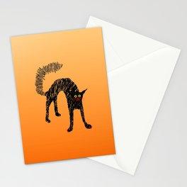 Black Cat 01 Stationery Cards