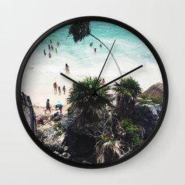 Playa Paraiso Wall Clock