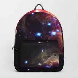 Red Supergiant Star V838 Monocerotis Deep Space Telescopic Photograph Backpack