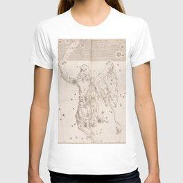 Johann Bayer - Uranometria / Measuring the Heavens (1661) - 33 Orion T-shirt