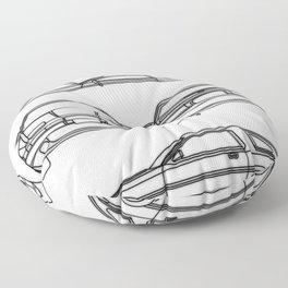 Supra Mk 3 Floor Pillow