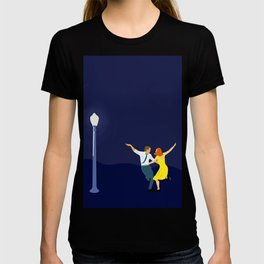 La La Land - Dancing Couple in Lamplight T-shirt