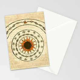 misterio visual 18: constelación irídica Stationery Cards