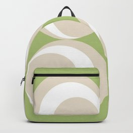 Green Moss 4 Circles Backpack