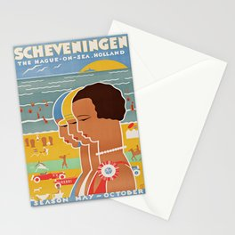 retro Scheveningen Stationery Cards