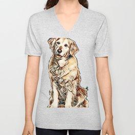I love my dogs Unisex V-Neck
