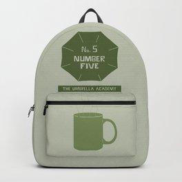 no.5 number five Backpack
