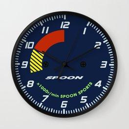 Spoon Tachometer Clock Wall Clock