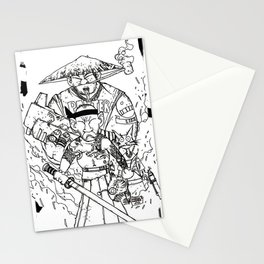 SUSHI MACHINEGUN Stationery Cards
