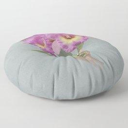Orchid Seduction Floor Pillow