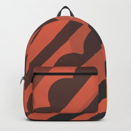 Modern Abstract Art Minimal Texture Bold Graphic Design Background GC-117-14 Backpack