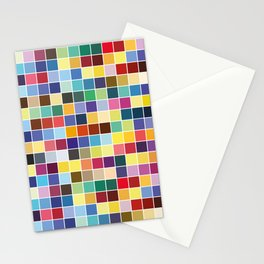 Pantone Color Palette - Pattern Stationery Cards