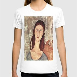 Amedeo Modigliani - Porträt der Jeanne Hébuterne T-shirt