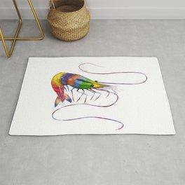 Colorful Shrimp Rug