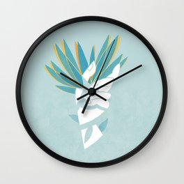 We are nature Wall Clock