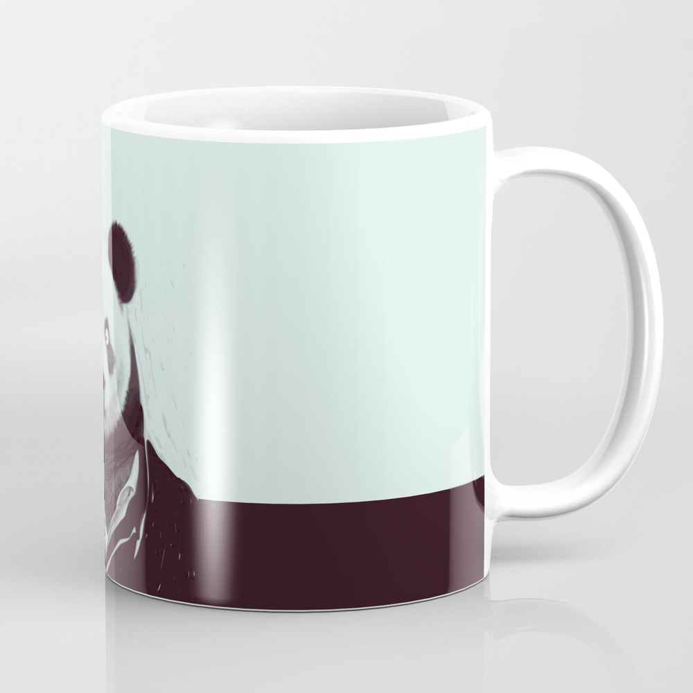 Panda Googly Eyes Tea Cup by Deanng MUG8017304