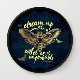 Wild and Improbable Wall Clock
