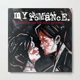 my chemical romance album 2020 ansel13 Metal Print