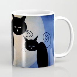 it's our moon - mooncats Coffee Mug