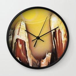 Foot bridge Wall Clock