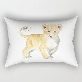 Little Lion Rectangular Pillow