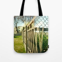 Two Fences Tote Bag
