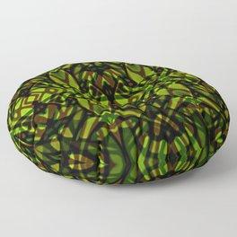 Fractal Art Stained Glass G313 Floor Pillow