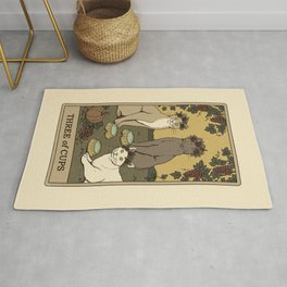 Three of Cups Rug