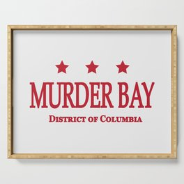 Murder Bay Serving Tray