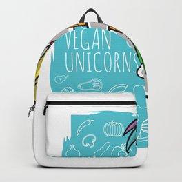 Vegan Carrot Unicorn Backpack